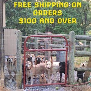 FREE SHIPPING $100+